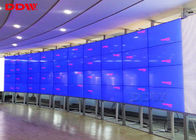 Flexible Structure Curved Video Screen 46 Inch 1.7mm Bezel 500 Nits Anti Glare Surface